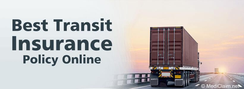 Transit Insurance, Buy Transportation Insurance India